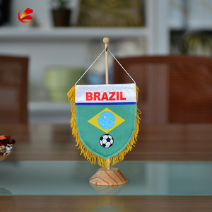 wholesale desk decorative sport table top flags for sale