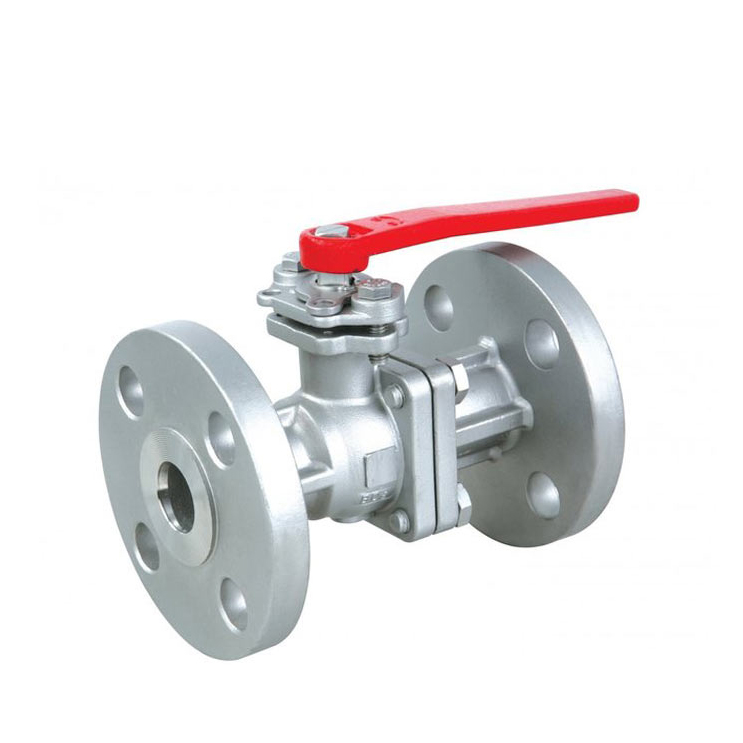 heat resistant stainless steel jis 10k flange ptfe lined 2 pc ball valve 150lb ptfe lined
