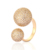Gold Plated Rings Jewelry Women ,Latest Gold Rings Design For Women