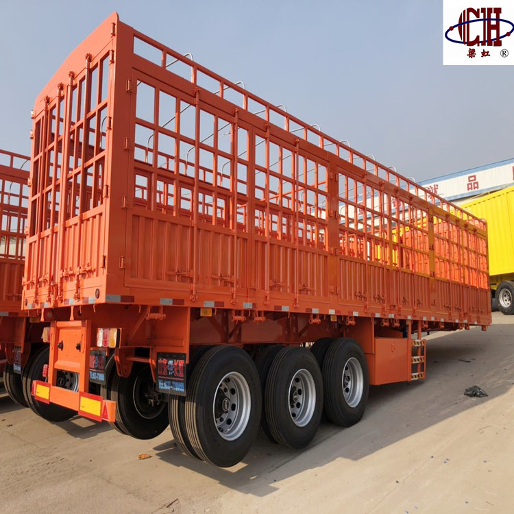 grid position Enclosed Trailers capacity fence stake semi trailer