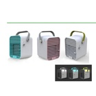Portable mini arctic personal usb air conditioner Fan air cooler with 7colors led night light