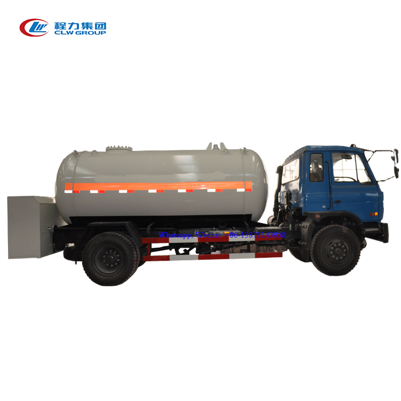 10 M3 Lpg Gas Delivery Truck