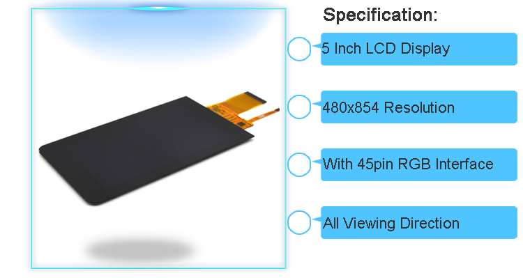 480x854 touch tft screen