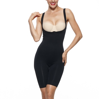 Plus Size Top Slim Postpartum Firm Control Bodysuit Shapewear Body Shaper for Women Spandex Shapewear