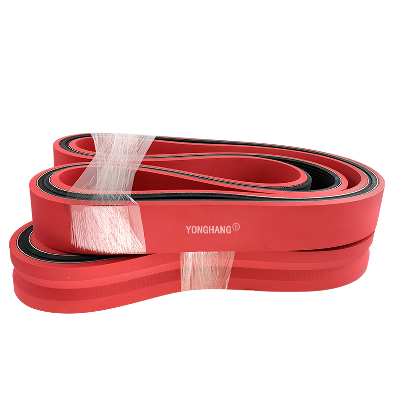 Manufacturers Direct Wear-resistant Traction Machine belt Extruder Plastic Machinery Rubber Traction belt