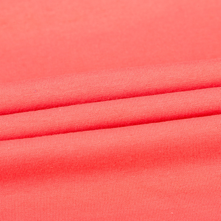 Read to ship Knitted solid Bush side cotton lycra spandex Fannel fleece Bush side French terry