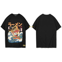 OEM Summer 2020 Tshirt Japanese Cartoon 3d Print Short Sleeve T Shirts Streetwear Fashion Casual Men Hip Hop T-shirt Retro Tops