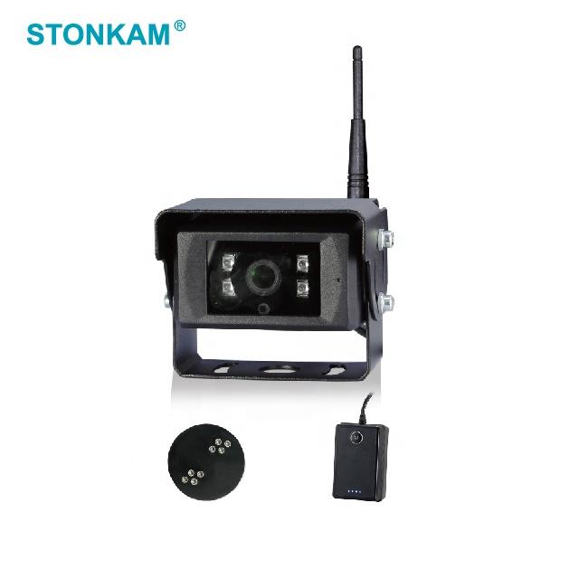 STONKAM 720P 2.4GHz digital wireless battery powered wireless backup camera kits