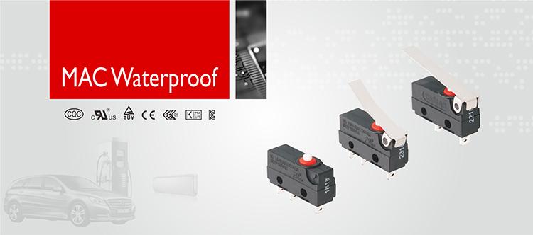 IBAO MAC シリーズ密封された低電圧防水マイクロスイッチ 10a 250v 5e4 磁気