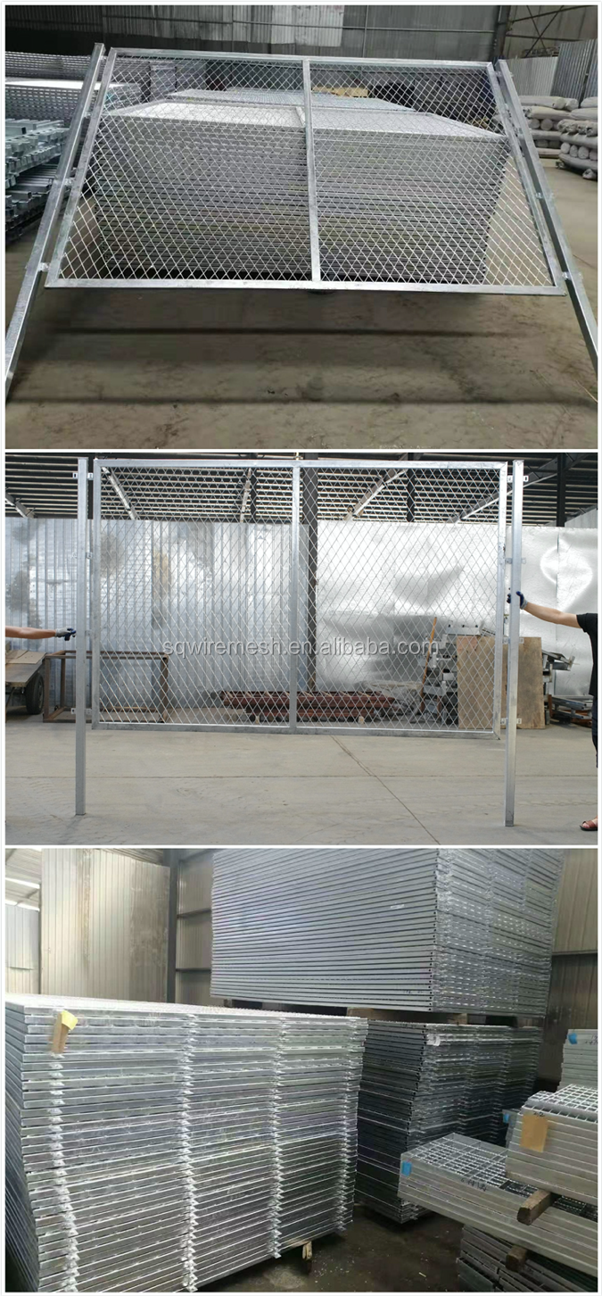 2019 new expanded metal gates and door/expanded metal fence