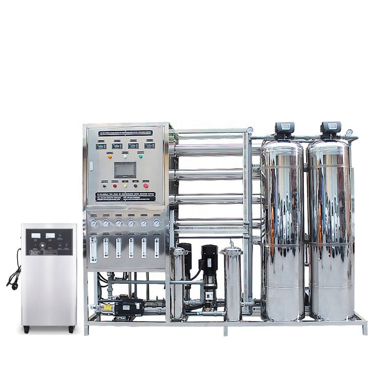 1T Automatic water purification systems machine/ water treatment system equipment / drinking water bottling plant