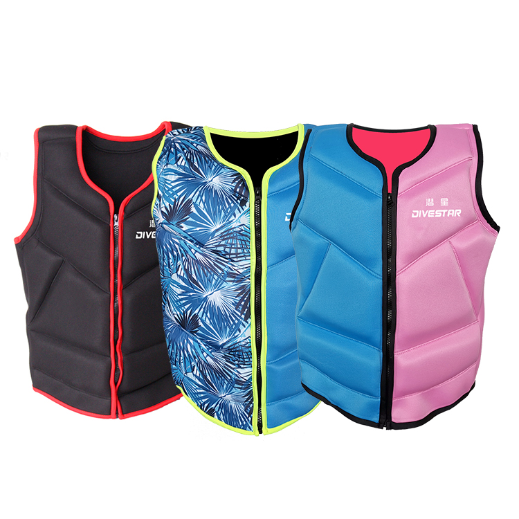 New Design Fashional EPE Life Vest Jacket Professional Life-saving Vest swimming Life Jacket for Adult