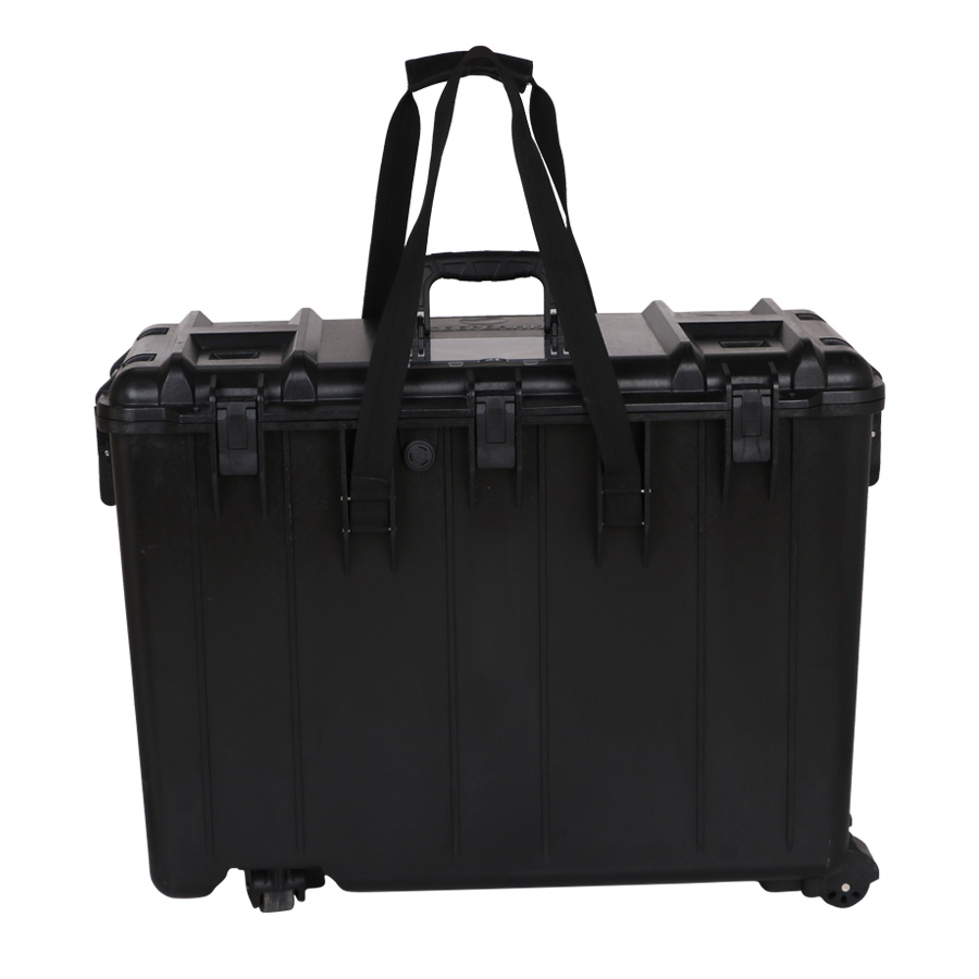 713046D four wheel trolley plastic <strong>hard</strong> <strong>case</strong> for battery