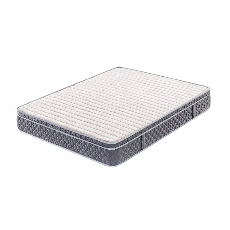 tight top thin spring fit  pocket spring home/school/apartment mattress