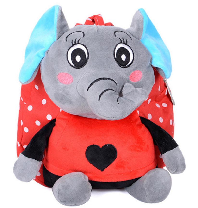 Baby School Bag Cartoon High Quality Animal Kids Plush Backpack