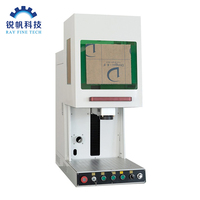 Enclose mopa fiber laser marking machine/fast speed fiber laser marking machine for engraving metal enclosed/sealed 20w 30w 50w