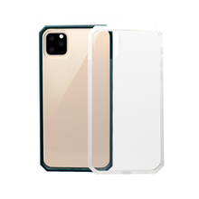2019 neueste Mode Anti-Shock Transparent Harte PC Hybrid Weiche TPU Handy Fall Für iPhone 11 Pro <span class=keywords><strong>Max</strong></span>