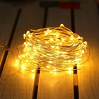 Led Lights Leds Christmas String Lights 100 Ft Led String Lights 33 Ft With 100 Leds Waterproof Christmas Copper Wire String Fairy Lights Battery