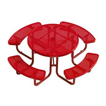 park table and chair outdoor metal tables picnic