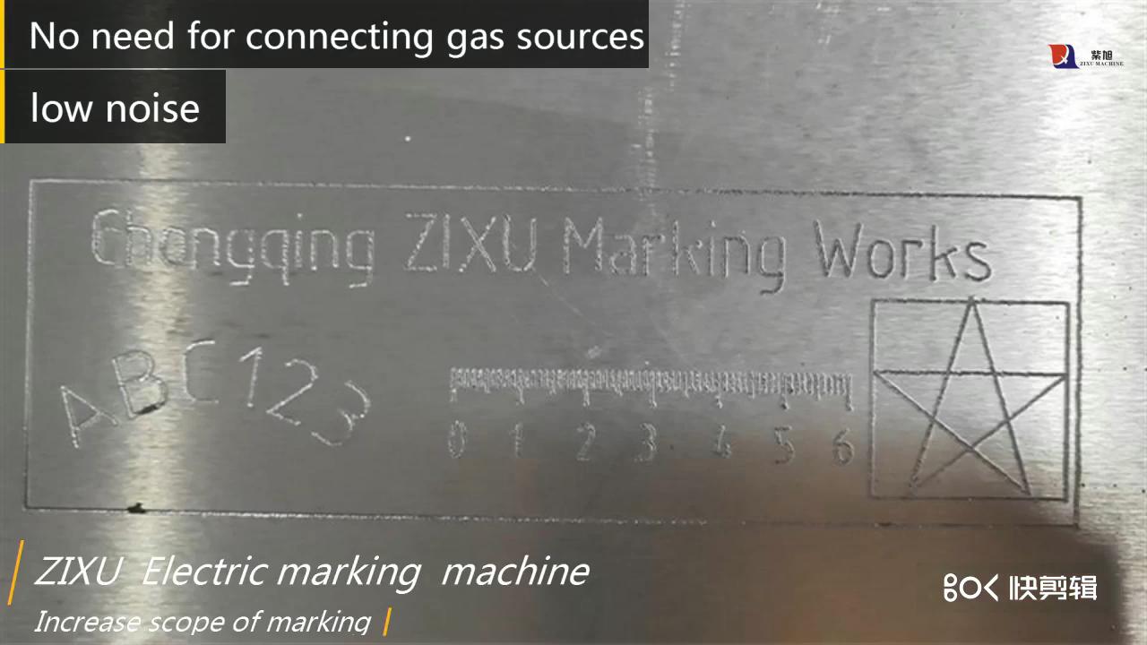 Zixu портативный Электрический вин номер маркировочный маркер машина Металл травления машина для шасси гравировки