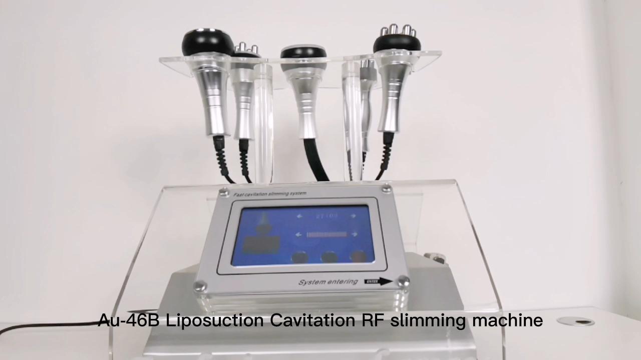 Link vacuum RF 40K strong cavitation Trip polar RF infrared face lifting multipolar RF liposuction slimming machine