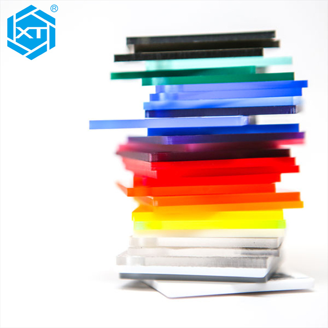 Transparent Opaque Translucent Fluorescent Color Neon Acrylic PMMA Plastic Sheet Panel Plate Board 4x8 Price