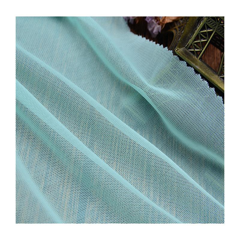 चीनी गर्म बिक्री पॉलिएस्टर स्पैन्डेक्स खिंचाव जाल कपड़े के लिए नीचे पहनने के कपड़ा