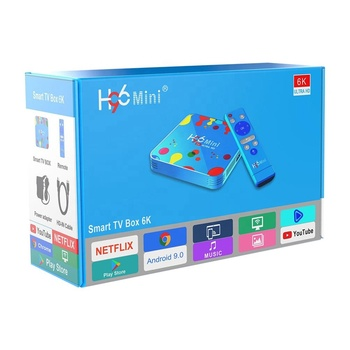 New arrival Đẹp đầy màu sắc H96mini allwinner H6 iptv android tv set top box 4GB ram 32GB 128GB ROM H96 mini
