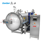 Large industrial autoclave glass jars sterilization retort machine for plastic container