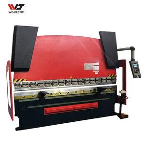 CNC manual sheet bending machine 80Ton hydraulic press brake metal bending machine