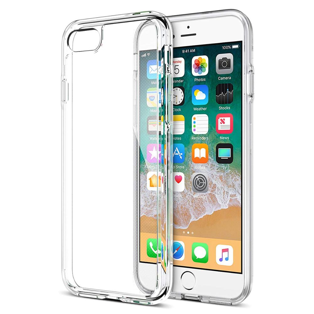 Amazon Hot Selling Voor iPhone x Clear TPU Zachte Ultra dunne 1.0mm Transparant Clear Telefoon Voor iPhone X 10 Clear Case