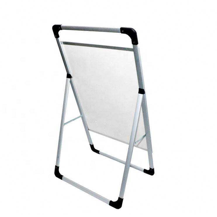 China Factory A5 Designer Metal Poster Stand Stands <strong>Retail</strong>