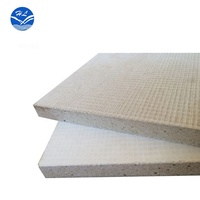 2700mm 3600mm length Fireproof material 12mm MGO board fire rated MGSO4 panel no chloride SIP for wall partition