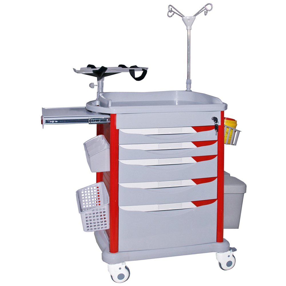 YFS-004 ABS Medical Patient  Emergency  Trolley