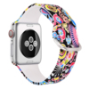 fireworks silicone watch band for apple watch