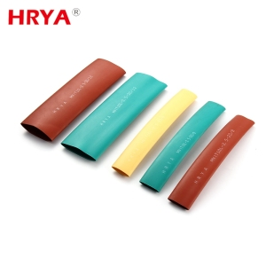 Custom printing pvc heat shrink tube, heat shrinkable busbar insulating tube