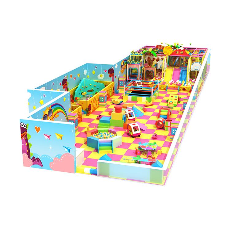 Kleurrijke Plastic Buitenspeeltuin Modulaire Kinderen Glijbaan Voor Kinderen