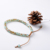Bohemian Square Bead Bracelet  for Women Multilayer Stretch Stackable Charm Women Bracelets