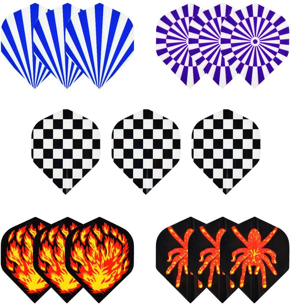 Professional Dart Flight Custom design/logo Laser feather dart flights