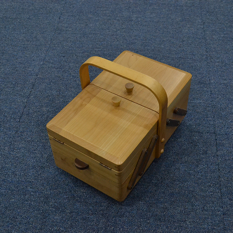 high end bamboo storage food box