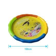 Летняя Пляжная надувная подушка для воды, детский игровой коврик, разбрызгиватель для игры на открытом воздухе, спортивные игрушки, игровой...(Китай)