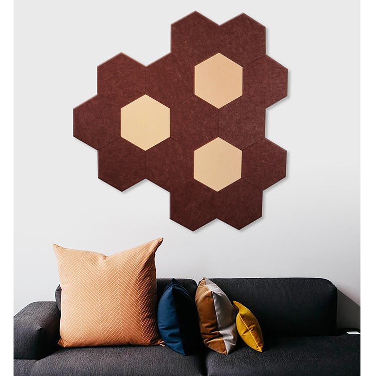 Colored diy acoustic fabric panels