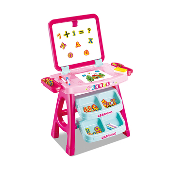 2 in 1 double sided drawing table early preschool resources learning games kids educational children toys