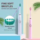 Electric Electronics Pink Electric Electronics Ultra Fine Wave Toothbrush Whitening With Artificial Intelligence Chargeable Set White Black Pink Colors