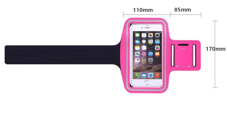 Fashion Workout Unterarm Einfach Montieren Handy Armband-Halter Sport Armband Für Smartphone