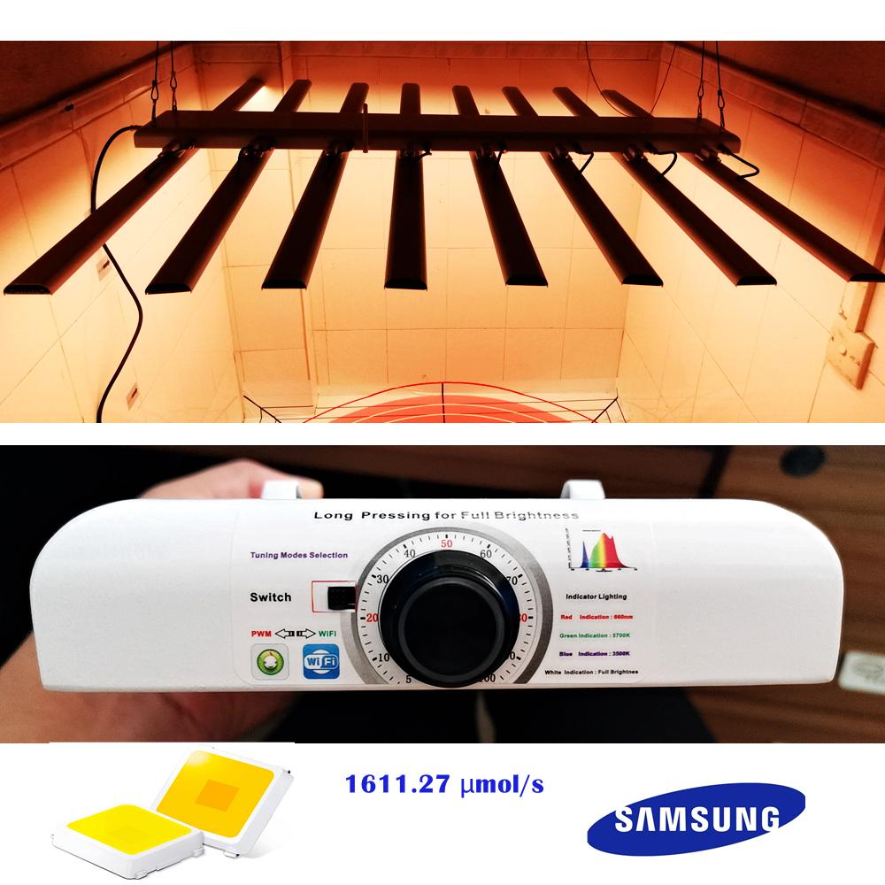 LM301B 1611.27umols 2.52umolJ Samsung LED Grow Light Bar Gavita Grow LED Light Hydroponic Growing System