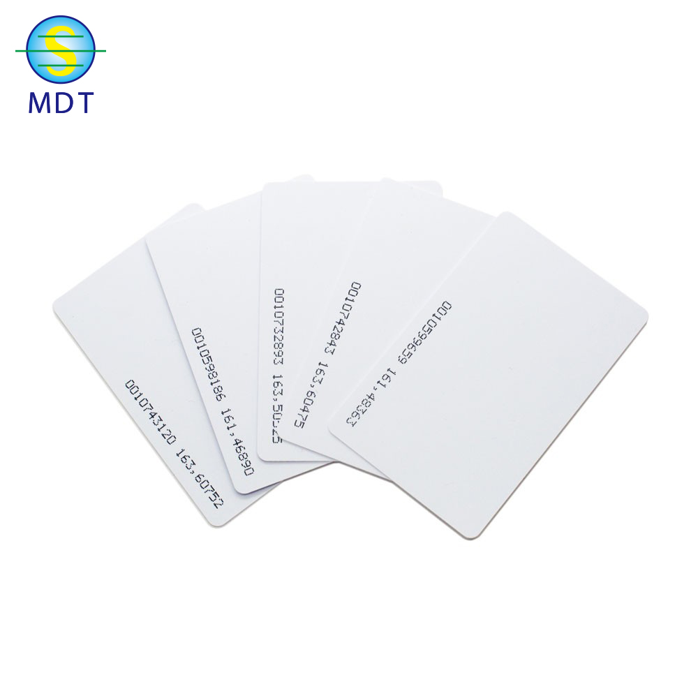 O Mdt plastic pvc  business card  gift card promotion