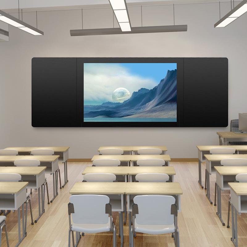 touch screen intelligence wall mounted classroom teaching use electronic blackboard