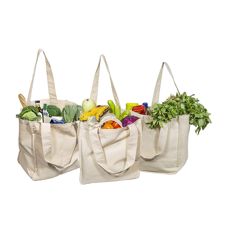 wholesale manufacturer organic fashion blank shopping tote cotton bags
