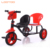 russia cheapest china one purple rotary seat trikes kids double seat children tricycle with light and roof basket on back